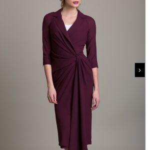 Byron Lars Brand New Black Twist Wrap dress Med 8